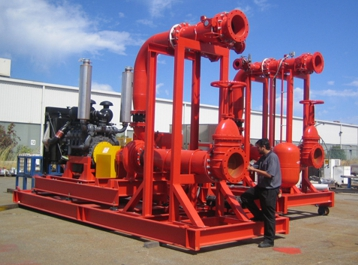 KMT Copper Cobalt Project - Fire Pump Package