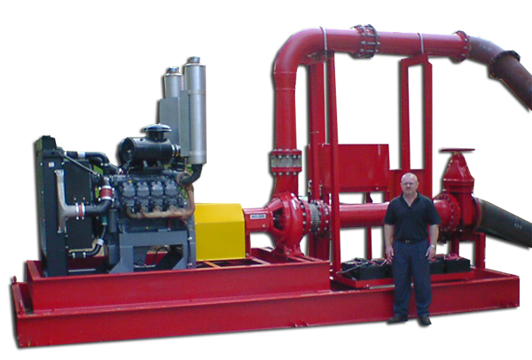 Kansanshi Copper - Gold Mine, Fire Pump Package