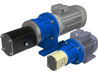 Magnetic Coupled Gear Pumps