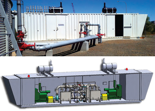 Burrup Materials Facility - Fire pump system