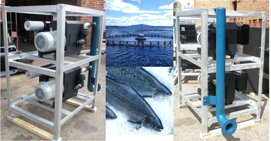 Fish Farming - Hook & Claw Compressor