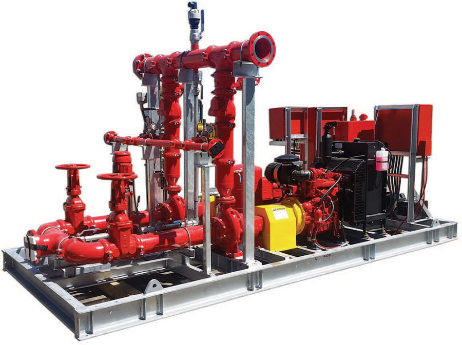 Hounde Gold Project - Fire Pump Set