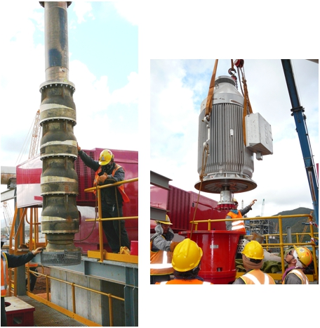 Inco Goro Nickel Mine - Turbine Fire Pump