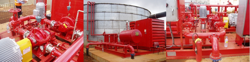 Inco Goro Nickel Mine - Plant Fire Water Pumps