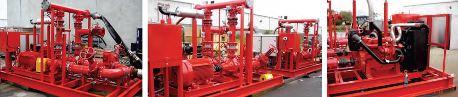 Lumwana Copper - Multiple Fire Pump Package