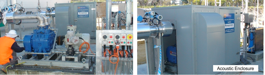 Beenyup WWTP - Gas Booster Pumps