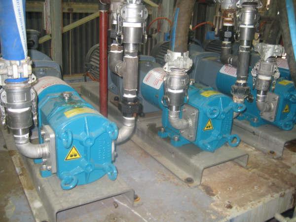 Alcoa Wagerup - Rotary Lobe Pumps - Dynapumps