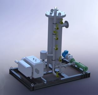 Claw Type Vacuum Pump for Soil Remediation