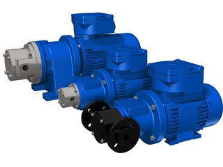 Magnetic Coupled Sliding Vane Pumps