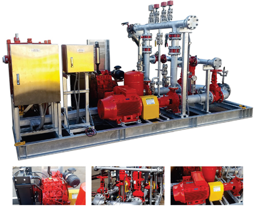 Dynapumps Fire Water Pumps for Mako Gold Project
