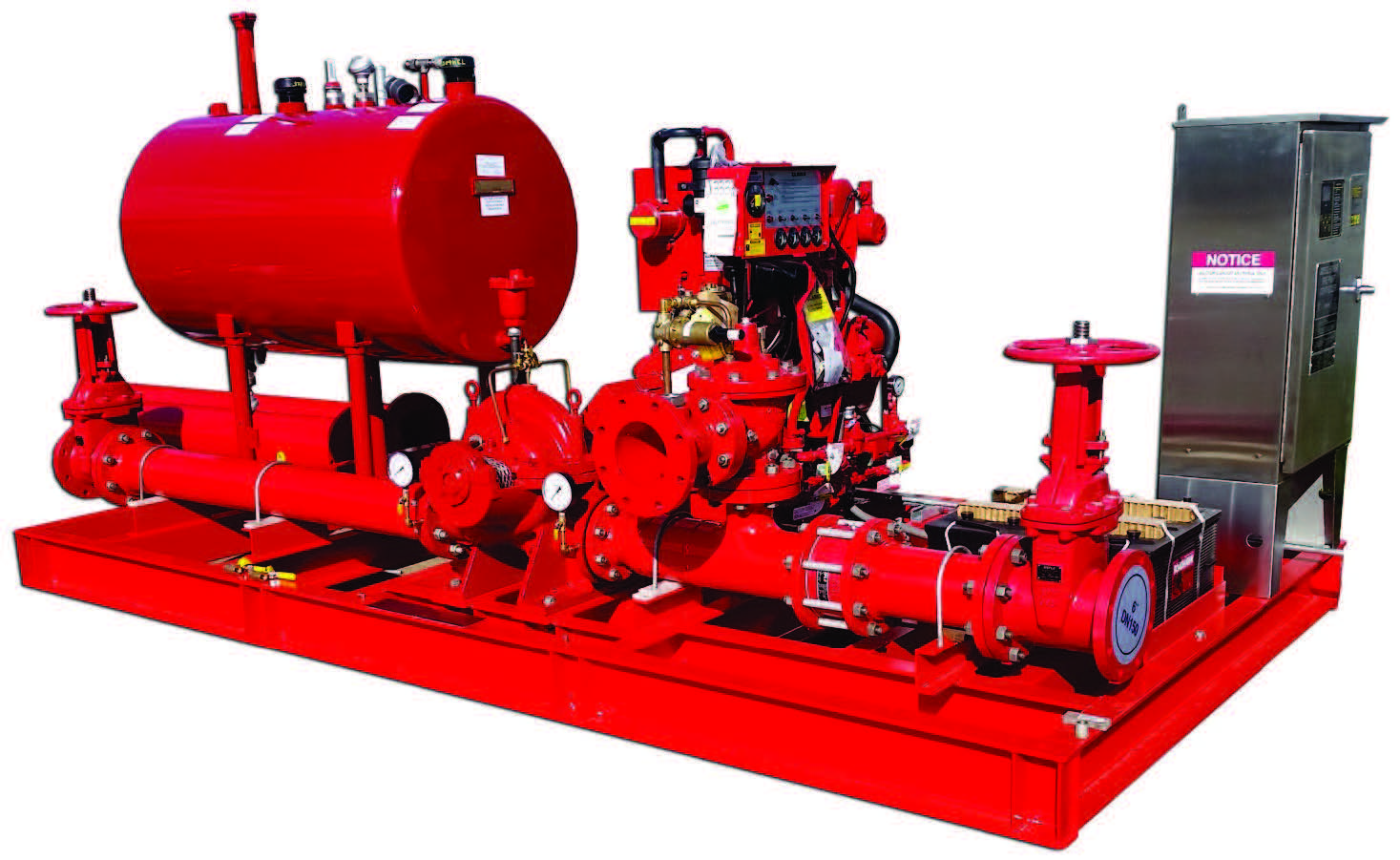 Diesel storage area fire booster pump ccuart Images