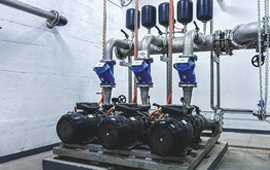 Pressure boosting system helps improve and modernise Poland wastewater plant